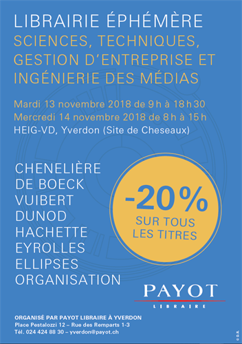 expo payot flyer 2018